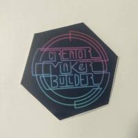 Creator Maker Builder – Sticker